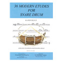 36 Modern Etudes For Snare Drum - by Bob Delich - TRY1024