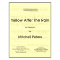 Yellow After The Rain - by Mitchell Peters - TRY1082