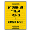 Intermediate Timpani Studies - by Mitchell Peters - TRY1095