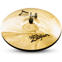 "Zildjian 13"" A CUSTOM HI HAT PAIR BRILL"