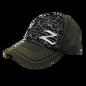 Zildjian Premium Black/Green Mesh Trucker Hat - T4632