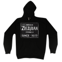 Zildjian Quincy Vintage Sign Zip Hoodie XL - T4644