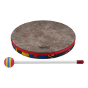 "Remo Drum, KIDS PERCUSSION¨, Hand Drum, 10"" Diameter, 1.25"" Depth, Fabric Rain Forest"