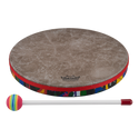 "Remo Drum, KIDS PERCUSSION¨, Hand Drum, 12"" Diameter, 1.25"" Depth, Fabric Rain Forest"