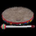"""Remo Drum, KIDS PERCUSSION¨, Hand Drum, 12"""" Diameter, 1.25"""" Depth, Fabric Rain Forest"""