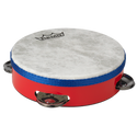 """Remo Kids Make Music Instrument, Tambourine, 6""""X 1.68"""", Red"""