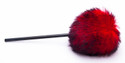 Danmar Fuzzy Bass Drum Beater - Red - 209RED