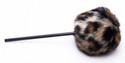 Danmar Fuzzy Bass Drum Beater - Tan Cheetah/Leopard - 209TC