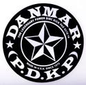 DANMAR BASS DRUM IMPACT PAD- Stars