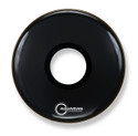 "Aquarian 18"" Center Port Resonant Bass Drum Black PTCC18BBK"