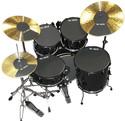 Vic Firth prepack w/ 10, 12, 14, 16, 22, hi-hat and cymbal (2) - MUTEPP6