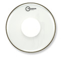 "Aquarian 18"" Response 2 Clear With Power Dot Bass Drum RSP2-PD18B"