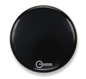 "Aquarian 16"" Regulator No Hole Bass Drum Gloss Black RF16BK"