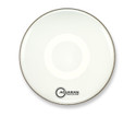 "Aquarian 16"" Regulator No Hole Bass Drum Gloss White RF16WH"