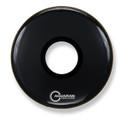"""Aquarian 18"""" Regulator Center Hole Bass Drum Gloss Black RPT18BK"""