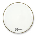 "Aquarian 18"" Force II Bass Drum Gloss White FR18WH"