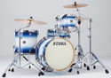 """Tama Superstar Classic 4pc 18""""BD shell kit 14x18, 8x12, 14x14, 5x14 with single tom holder in Jet Blue Burst lacquer"""