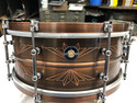 Q DRUMS 6X14 UNION COPPER SNARE DRUM Free shipping in the continental US only