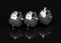 Pearl - Push-Button Spike Rubber Feet  - CVT300/3