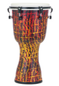 "Pearl - 12"" Top Tuned Djembe in #697 Tribal Fire - PBJV12697"