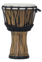 "Pearl - 7"" Rope Tuned Djembe in #698 Zebra Grass - PBJVR7698"