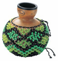 Pearl - Traditional Natural Gourd Shekere - Uno - PSK50FC