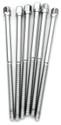DW Chrome Tension Rod M5-.8 X 4.37 In (6Pk) - DWSM375C