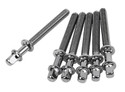 Pearl - Tension Rods, W7/32x52mm (6) - T062/6