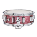 Rogers Dyna-sonic 5x14 Wood Shell Snare Drum - Red Ripple Beavertail - 36RR