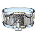 Rogers Dyna-Sonic 6.5x14 Wood Shell Snare Drum - Black Onyx Beavertail - 37BKO
