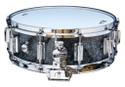Rogers Dyna-Sonic 5x14 Wood Shell Snare Drum - Black Diamond Pearl  Beavertail - 36BP