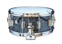 Rogers Dyna-Sonic 6.5x14 Wood Shell Snare Drum - Black Diamond Pearl Beavertail - 37BP
