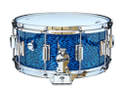 Rogers Dyna-Sonic 6.5x14 Wood Shell Snare Drum - Blue Onyx - 37BLO