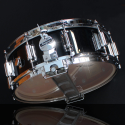 Rogers Dyna-Sonic 5x14 Classic Snare Drum - Black Gloss Lacquer w/BT Lugs - 36BKL