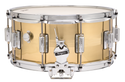 Rogers Dyna-Sonic 6.5x14 7-Line Snare Drum - B7 Brass, 1.2mm shell - 37BN