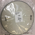 """Rogers Logo Drum Head  13"""" Coated White - RBH13A"""