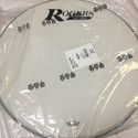 "Rogers Logo Resonant Bass Drum Head 20"" Coated White w/Large Logo - RBH20A-LOGO"