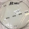 "Rogers Logo Resonant Bass Drum Head 20"" Coated White w/Large Logo - RBH20A-LOGO"