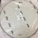 "Rogers Logo Bass Drum Head 22"" Coated White  - RBH22A"
