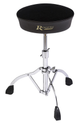 Rogers Deluxe Throne Stand Single Braced Swan Leg Base w/ Cloth Top and Embroidered Logo - RDH88