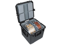 SKB - iSeries Dual Snare Case w/padded liner, divider and Nylex lined foam pads - 3i-1717-16LT