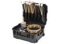 SKB - Percussion/mallet Case w/mallet holsters and trap table - 3i-1914-8B-P