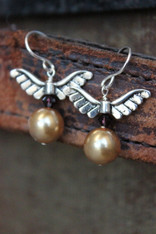 Golden Snitch Earrings Harry Potter