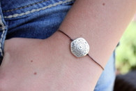 Aztec Sun Charm Bracelet