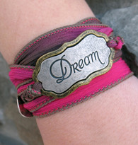 Dream - Silk Ribbon Wrap Bracelet