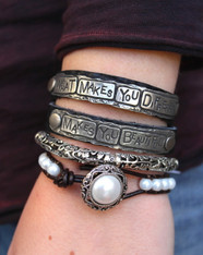 What Makes You Different Makes You Beautiful Wrap Bracelet