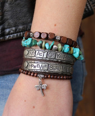No Act of Kindness, However Small, Is a Waste Wrap Bracelet