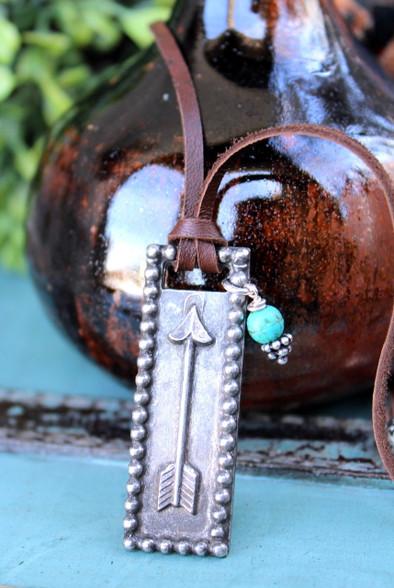 Arrow Bohemian Necklace