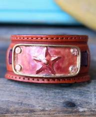 Lone Star Leather Cuff