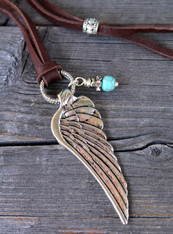Angel Wing Bohemian Necklace